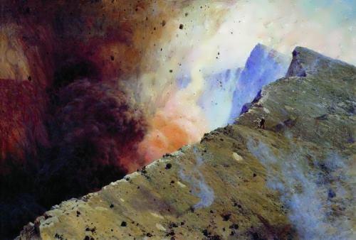 Nikolai Yaroshenko. Eruption, 1898