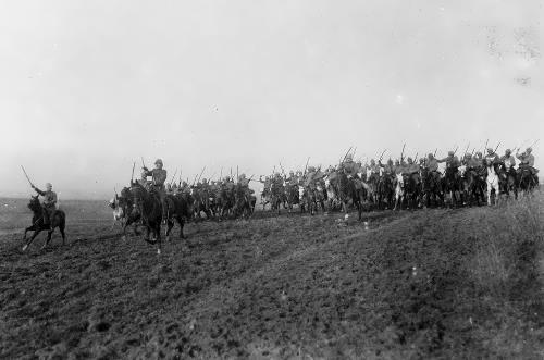 Turkish cavalry, 1917