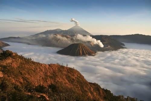 Volcano - terrible phenomenon of nature