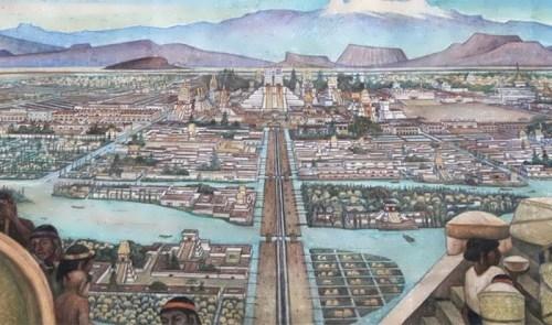 Tenochtitlan = Mexico City