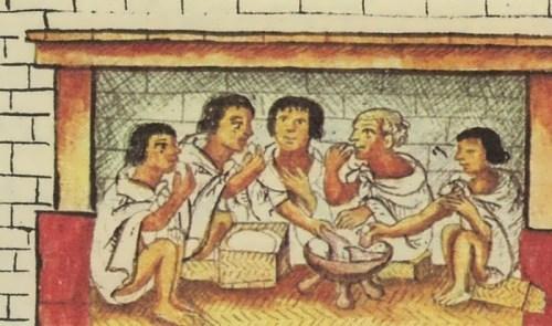 Poor Aztec families sometimes sold their children