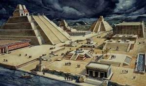 Tenochtitlan was one of the largest and most densely populated cities in the world