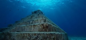 Japanese underwater pyramid