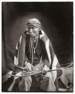 Old Navajo Warrior