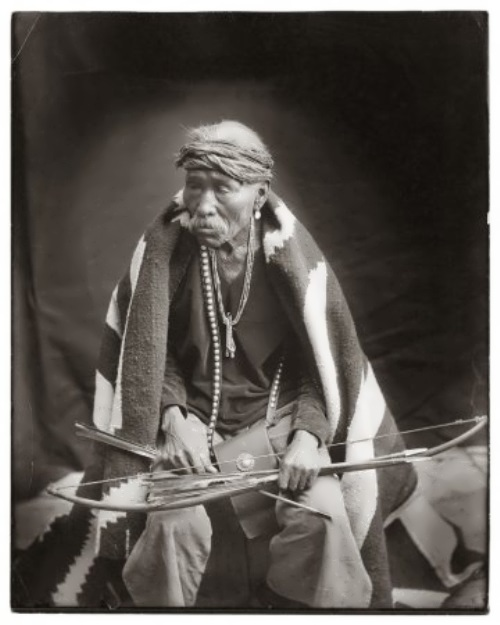 Old Navajo Warrior