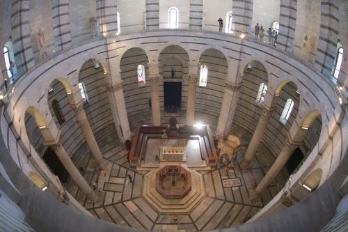 Tower of Pisa inside