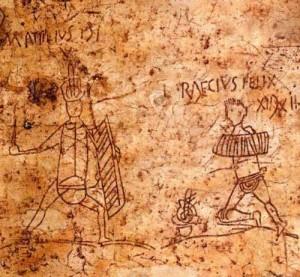 ancient Rome graffiti