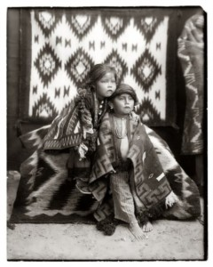 Navajo brother and sister