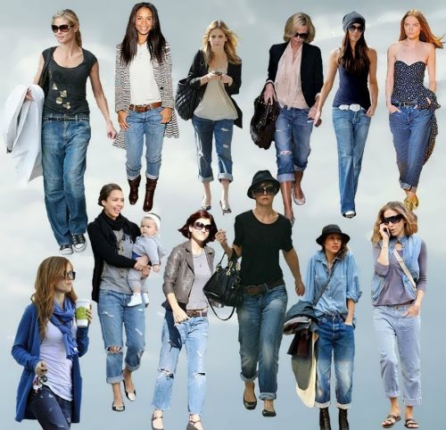 Jeans are popular all over the world