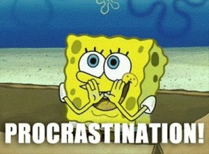 Procrastination is a bad habit