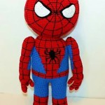 Knitted Spider Man