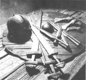 The swords of Vikings