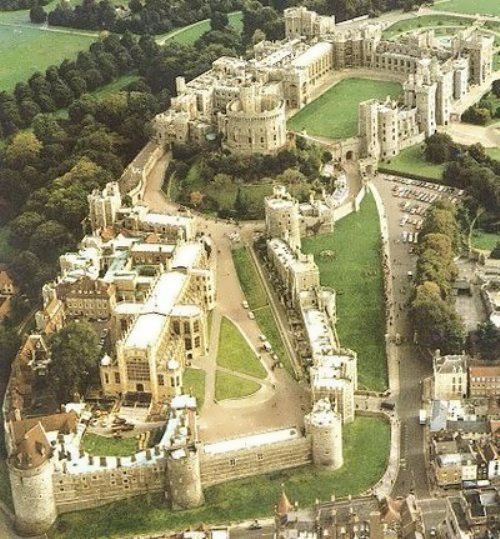 Windsor from the air