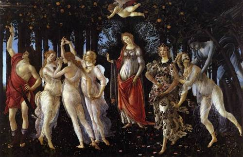 Primavera or Allegory of Spring by Sandro Botticelli