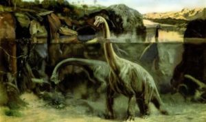 Dinosaurs - group of now-extinct, terrestrial reptiles