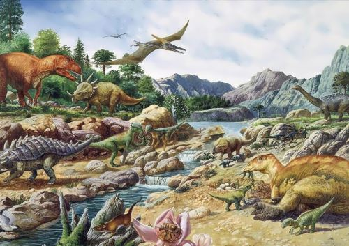 The world of giant reptiles