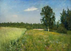 I. I. Levitan. June day (Summer), 1890