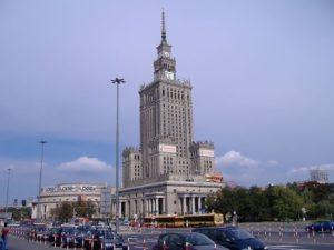 Millennium Clock, Warsaw, Poland