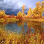 V. Polenov. Golden autumn