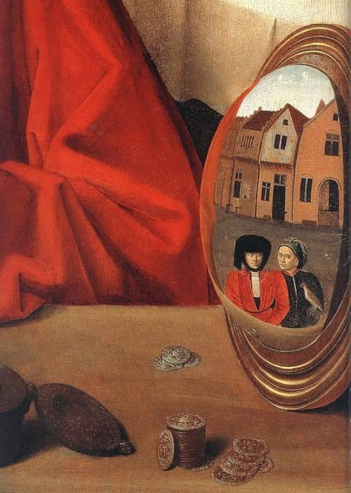 Saint Eligius in his workshop, fragment