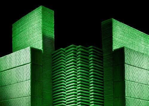 Chewing gum architecture by Sam Kaplan