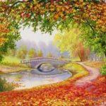 Elena Samarskaya. Autumn colors