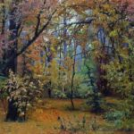 Ivan Shishkin. Autumn forest