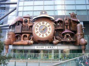 Clock in Tokyo, Japan