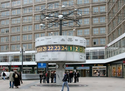 World Time, Berlin, Germany