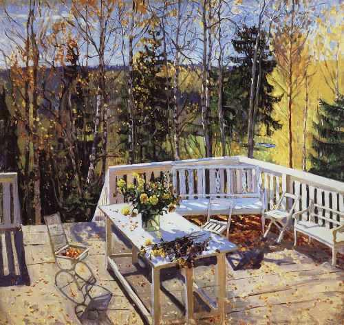 Stanislav Zhukovsky. Abandoned terrace