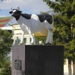 Monument to cow