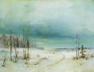 A.K. Savrasov. Winter