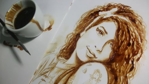 Coffee Art by Dirceu Veiga