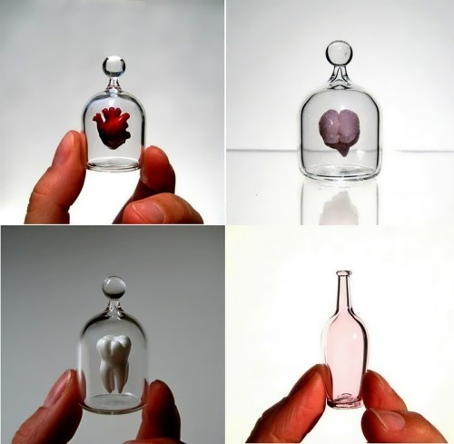 Kiva Ford miniature glass art