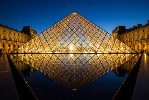Pyramid of the Louvre, Paris