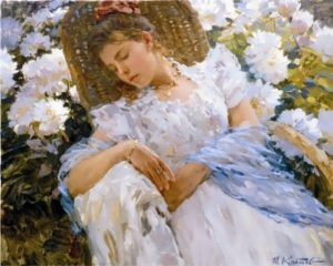 The painting by Yuri Krotov