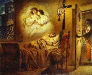 Karl Bryullov. Nun's Dream