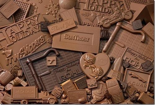 Chocolate is so tasty