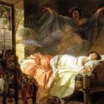 Karl Bryullov. The dream of a young girl before dawn