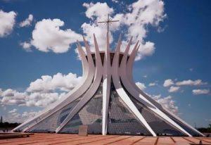 Cathedral of Brasilia in Brasilia, Brazil