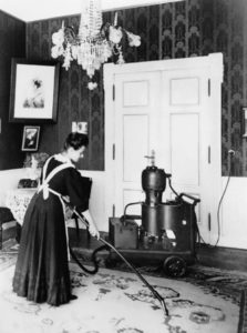 One of the first vacuum cleaners - Elmo manufactured by Siemens, 1906