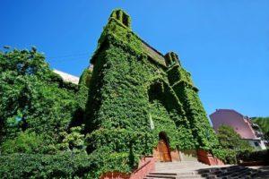 Green church, Buenos Aires, Argentina