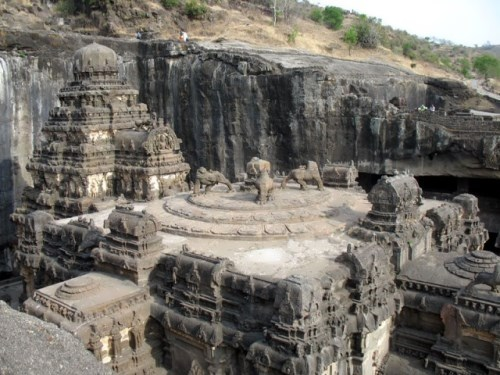 Most unusual churches. Kailash Temple