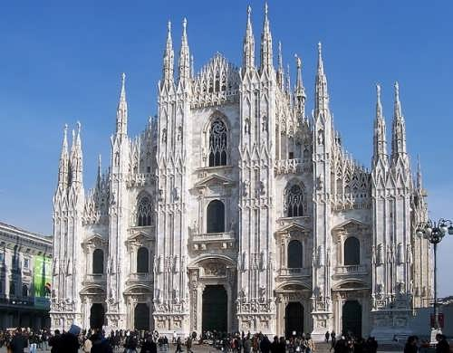 Most unusual churches. Milan Cathedral