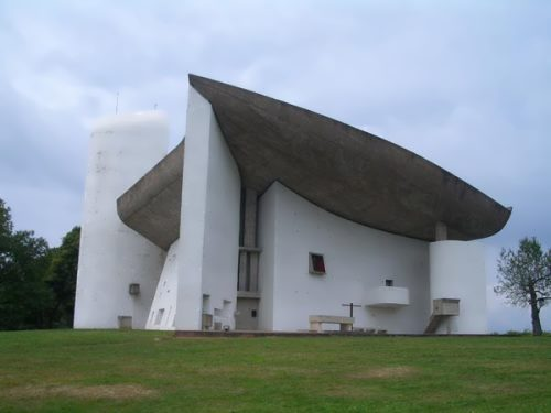 Most unusual churches. Notre Dame du Haut