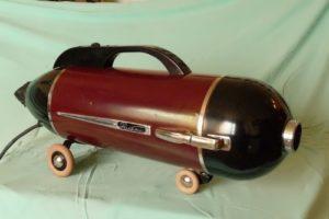Horizontal portable Soviet vacuum cleaner Rocket