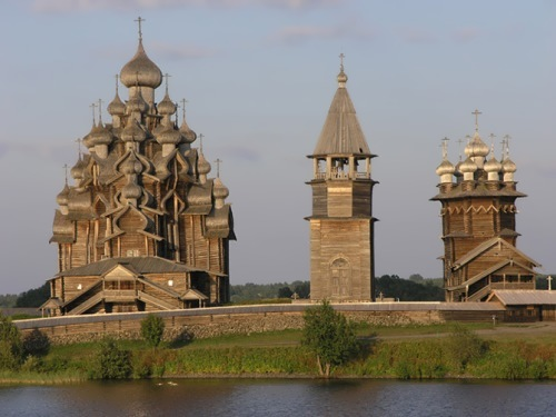 Church of the Transfiguration on Kizhi Island