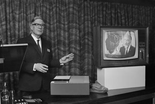 The prototype of the VCR is demonstrated in the UK in 1968
