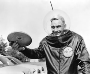 The inventor of the Frisbee - Walter Frederick Morrison