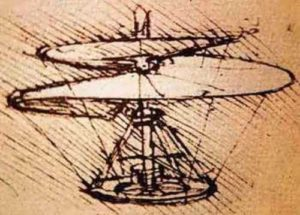 Helicopter by Da Vinci